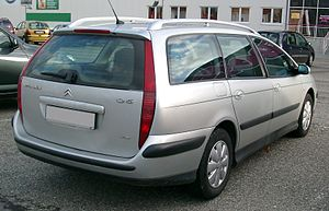 Citroën C5 - Estate (pre-facelift)