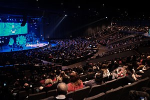 City First Church - Image: City First Church worship 2015