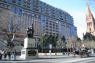 public square in Melbourne, Australia