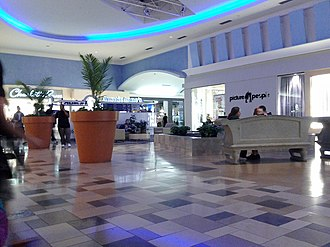 North East Mall - The photo was taken on February 3, 2013, in the Dick's Sporting Goods court.