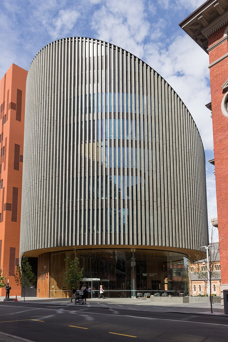 City of Perth Library, April 2016
