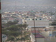 One of the many residential areas of Hargeisa
