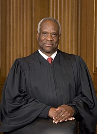 Clarence Thomas Clarence Thomas official SCOTUS portrait.jpg