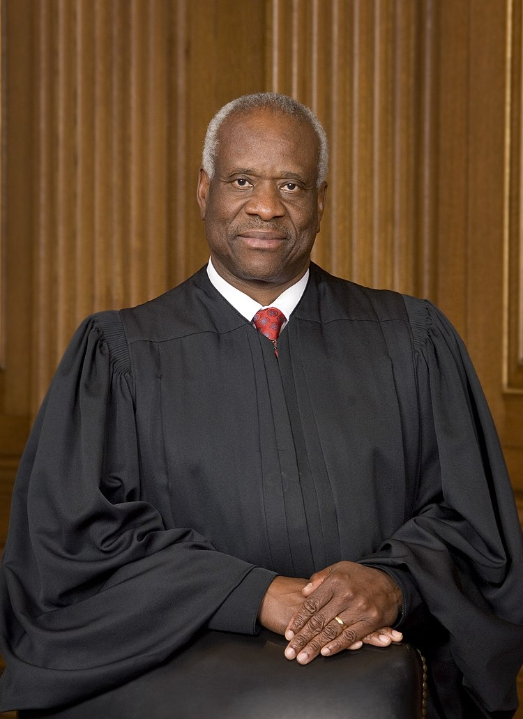 Clarence Thomas, Associate Justice of the Supreme Court of the United States