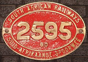 South African Class GO 4-8-2+2-8-4 - Image: Class GO 2595 (4 8 2+2 8 4)