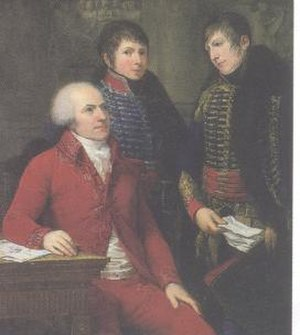 Claude Louis Petiet - Claude-Louis Petiet and his two son, by Andrea Appiani.