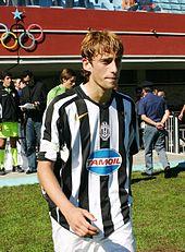Un giovane Marchisio nel 2005, capitano della formazione