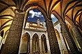 Claustro mudéjar de la Iglesia de San Pedro, Teruel, Aragón, España - 20090426.jpg