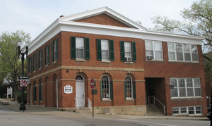 Liberty, Missouri - Clay County Savings Association building