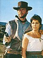 "Clint Eastwood and Marianne Koch in ""A Fistful of Dollars"", 1964.jpg"