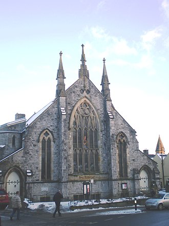 Clitheroe - United Reformed Church in the Town Centre
