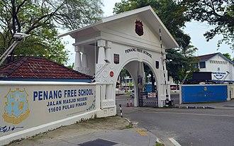 Batu Lanchang - Penang Free School has produced several prominent personalities throughout its long history.
