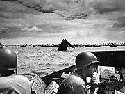 Coast Guardsmen at Tarawa