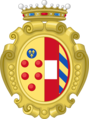 Coat of arms of Margareth of Austria as Duchess of Florence.png
