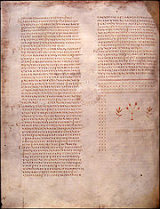 Codex Alexandrinus f41v - Luke
