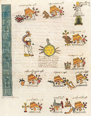 Eduard Seler - A page of the Codex Mendoza : the conquests and rules of Itzcoatl tlatoani of Tenochtitlan (1427–1440)