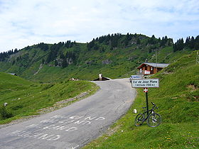Image illustrative de l'article Col de Joux Plane