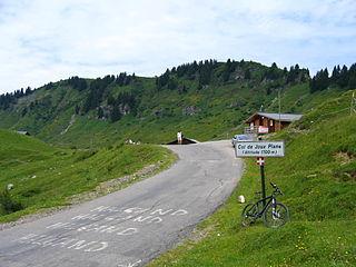 Col de Joux Plane mountain pass
