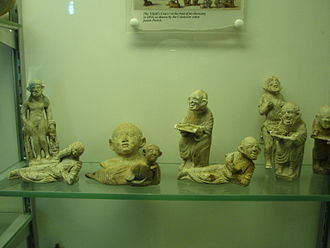 Camulodunum - Figurines from a child's burial, pre-60/1