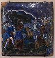 Colin Nouailher - Plaque - Abraham et Melchisédech (émail peint sur cuivre, Limoges, 1565-1570).jpg
