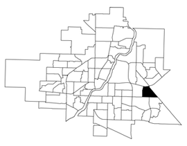 College Park East location map