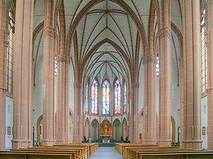 St. Agnes, Cologne - Interior of St. Agnes