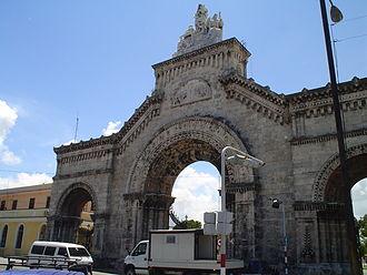 Colon Cemetery, Havana - Image: Colon Cemetery Havana entrance