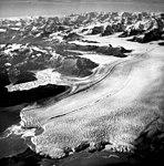 Columbia Glacier, Terentiev Lake, Calving Terminus and Distributaries, August 24, 1964 (GLACIERS 1061).jpg