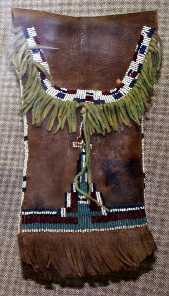 Comanche ration bag 1880 OHS