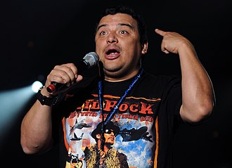"Fishsticks (South Park) - Carlos Mencia, stand-up comedian and former host of Mind of Mencia, is spoofed in ""Fishsticks""."