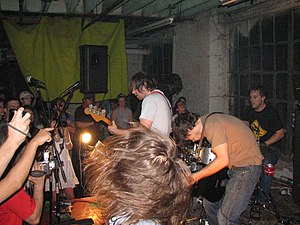 Comets on Fire - Comets on Fire in New York in 2006