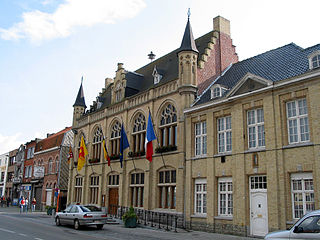 Comines-Warneton Municipality in French Community, Belgium