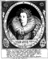 Comitia Westmonasteriensium, in collegio Sti Petri habita die anniversario fundatricis suæ reginæ Elizabethæ inauguratæ Jan Fleuron T145251-1.png
