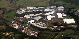 Grenada North - Image: Commercial and industrial part of Grenada North, Wellington, New Zealand