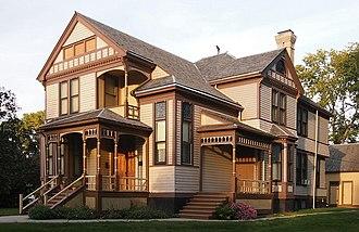 Minnesota Historical Society - Image: Comstock House