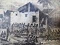 Contemporary Engraving of Zanzibar Slave Market - World's Last Open Slave Market - Outside Anglican Cathedral - Stone Town - Zanzibar - Tanzania (8842023408).jpg