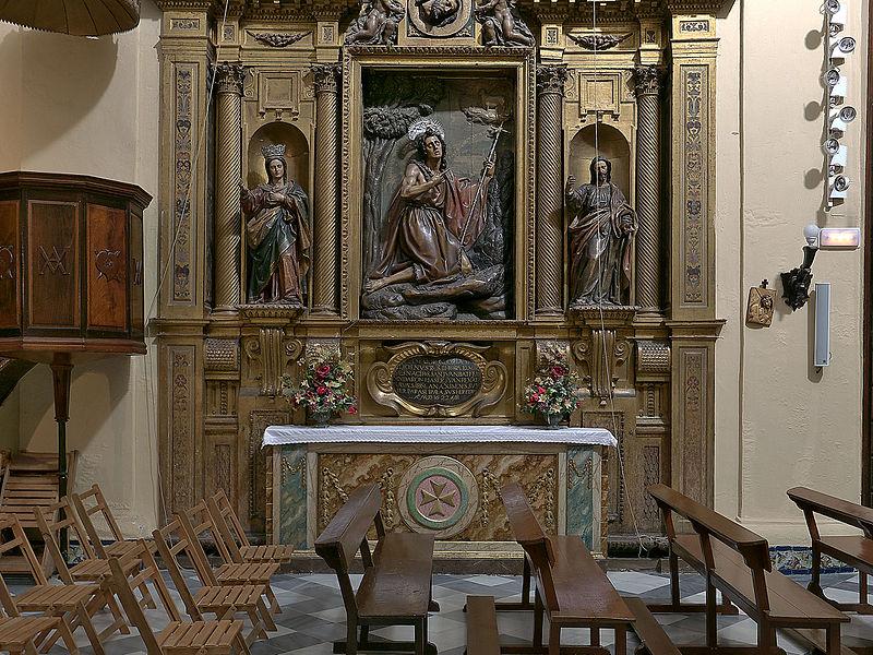 Convento de San Leandro, Sevilla. Retablo de San Juan Bautista.jpg