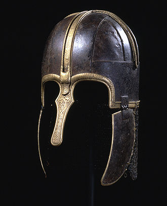 Anglo-Saxon military organization - The Coppergate Helmet dates to the Anglo-Saxon era.