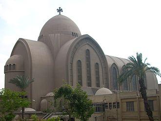 Coptic Orthodox Church of Alexandria - Saint Mark's Coptic Orthodox Cathedral, Cairo, Egypt
