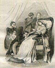 La morte di Corinna con Oswald disperando (incisione di G. Staal)