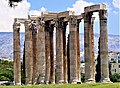 Corinthian Columns of Temple of Olympian Zeus - Joy of Museum.jpg