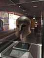 Corinthian helmet, This is an early Greek helmet, dating from around the 7th-5th century BC..jpg