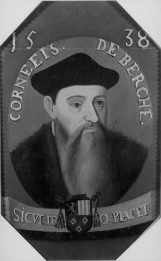 Corneille of Berghes - Anonymous portrait of Corneille of Berghes