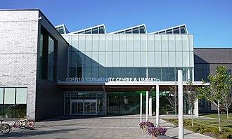 Cornell, Ontario - Image: Cornell Community Centre & Library, Markham, Ontario Entrance 2015June 20