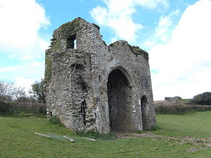 Cornworthy Priory - The remains of Cornworthy Priory