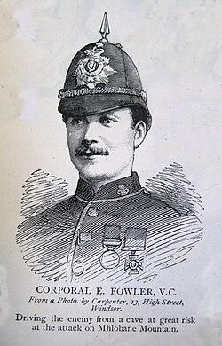 Corporal e.fowler v.c.