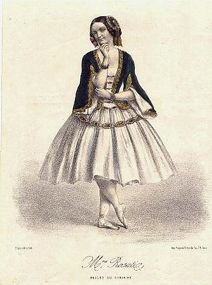 Carolina Rosati - Carolina Rosati (1856) as Médora in Le Corsaire