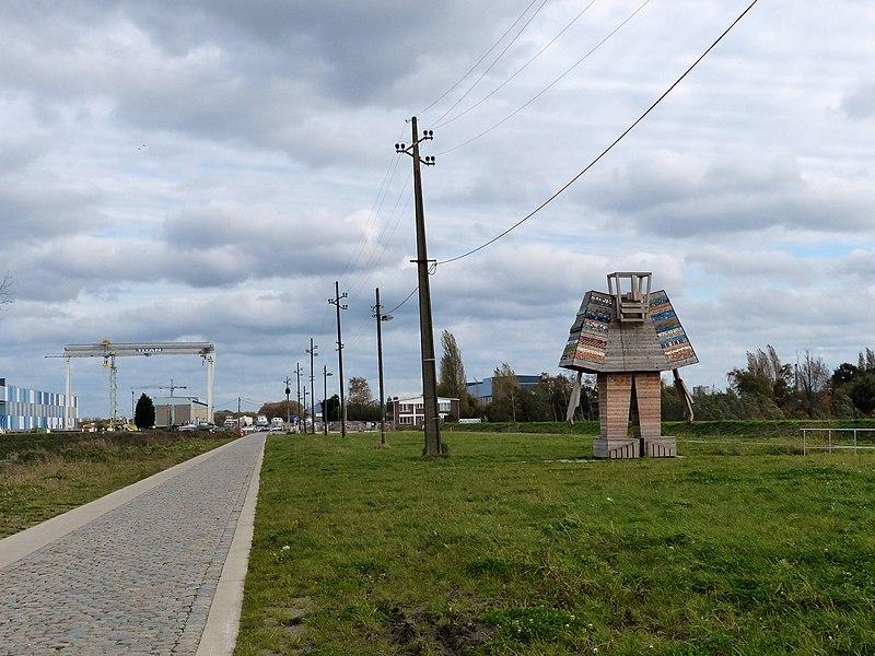 CosmoGolem, Scheldelei Kruibeke