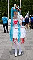Cosplayer of Hatsune Miku in PF22 20150509a.jpg