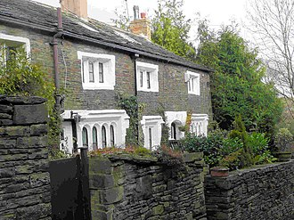 Listed buildings in Rawtenstall - Image: Cottages, Old Street, Newchurch geograph.org.uk 1054099